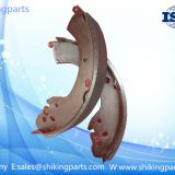 SKG0303 Axle brake shoe,non asbestos brake lining,friction coefficient:0.39