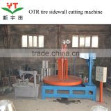 2015 used truck tire cutting circle machine for sale