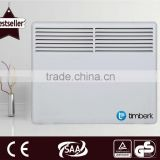 Metal panel wall convector heater