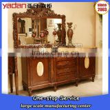 China mirrored dressing table,makeup dresser,makeup vanity table wholesale marble top