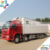 9.6m reefer truck body sino-truck howo 336Hp heavy duty chassis refrigerated truck                                                                         Quality Choice