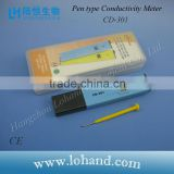 Lohand hot sale high accuracy water quality tester pocket size battery digital Conductivity meter