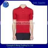 New Trendy High Quality Blank Mens Polo Neck Cool Fit T-shirt