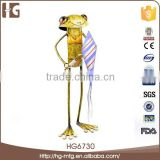 Wholesale Custom Beautiful Cast Delicate Frog Figurines