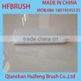 Nylon bristle flat brush