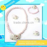 Kids lovely cartoon pearl bracelet