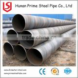 API 5L Grade X70 SSAW Line pipe / welded steel pipe for structural and low pressure liquid delivery