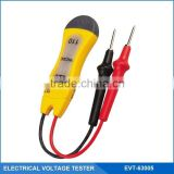 Two Range Circuit Voltage Tester with 110V/220V AC/DC and High Visibility Dual Indicator