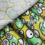Patchwork frog baby quilt /animal shaped baby plush blanket/100% Polyester baby blanket