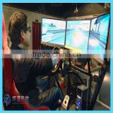 Mall Attractive 4d coin operated car racing game machine