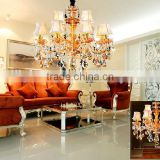 Modern decorative villa luxury crystal chandlier lamp