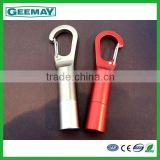 Professional supplier aluminium keychain carabiner hook