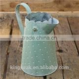 2015 New Design Country Metal Jug/decoration vase/Unique Flower Vase /metal flower antique vase/Flower Vase for Garden
