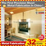 Kindle customized durable and popular gas fireplace