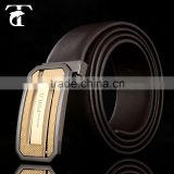 2015 wide genuine leather belt for men