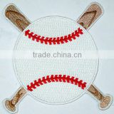 embroidery sporting patch for garment