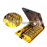 45-in-1 Precision screwdriver set iphone cell phone laptop watch eye glass PDA MP3 NDS PSP repair tool set