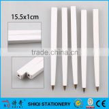 China wholesale white square wooden ball pen ,wood pen
