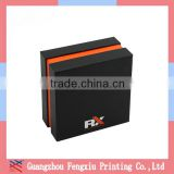 China Factory Custom Made Matte Black Jewelry Gift Paper Packing Box                                                                         Quality Choice