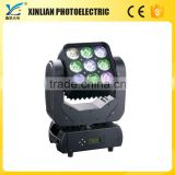 lighting stand heavy duty moving head stepping motor wall tiles panels LED 9Pcs Moving head matrix