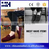 Casual Men Red Velvet Loafer Shoe Fashion