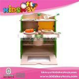 Kids Pretend Play Cook Wooden Kitchen Toy children wooden toy