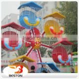 Attractive children games funfair rides mini ferris wheel/ amusement park equipment for family                                                                                         Most Popular