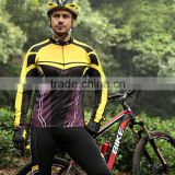 Fashionable sexy sport suit men and cycle clothes men or cycling clothes with factory prices made in China
