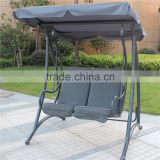 outdoor garden 2-seat swing chair/garden patio high quality swing chair/hollywoodschaukel
