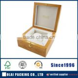 top quality burl wood watch box
