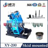 Gold Mining Equipment!!! XY-200 Trailer/Tractor/Crawler Borehole Mining Drilling Equipment for Sale