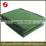 Heated Military Wool And Polyester Blanket, Outdoor Army Blanket
