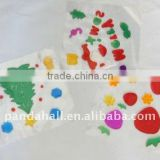 Jelly Seal, xmas decoration, christmas sticker, Christmas Decorations, Christmas new hot items for 2014, Multicolor(AJEW-H001-M)
