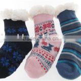 Factory price Anti-Slip wholesale slipper socks with rubber sole