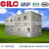Easy installing & assembling Modular Container House for office, factory, workshop, dormitory, home etc.