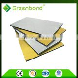exterior wall cladding aluminum composite panel acp golden brushed aluminum composite panel acp