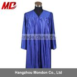 Choir robe - adult church robe shiny royal blue