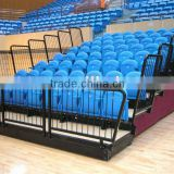 sport facility platform retractable tribune telescopic bleacher folding plastic seating flex grandstand. portable bleacher