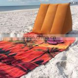 sienna inflatable wedge pillow head support with mat for beach leisure