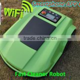 The 4th Generation Smartphone App Control Robot Lawn Mower Grass Cutter With Water-proofed Charger