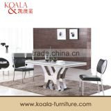 Marble Top Dining Table With Stainless Steel Frame A339#                                                                         Quality Choice