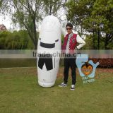 high quality inflatable soccer training dummy sports keeper dummy