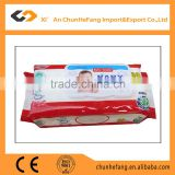 High Quality Hand and Mouth Cleaning Baby Wipe with Plastic Case
