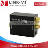 Alibaba China LM-DA01 SPDIF to RCA L/R Adapter,DAC Digital Audio to 5.1 Converter
