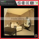 Good Silk Material design Chinese traditional Hotel hand-painting wallpaper