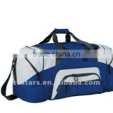 600D ployester Large royal blue or gray sport duffel bag
