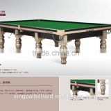 12 ft Star Solid Wood Snooker Table with full set of accessories