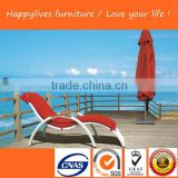 HL-2018 Hotsale Good Quality sex lounge chair lounge set outdoor used sun loungers beach Made in China