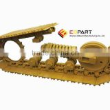 bulldozer spare parts-Track roller,Top roller,Idler,Sprocket,Segment group,Track chain link