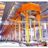 Feiyide Automatic Vertical Hanging Arm Chrome Zinc Nickel Barrel Electroplating Machine